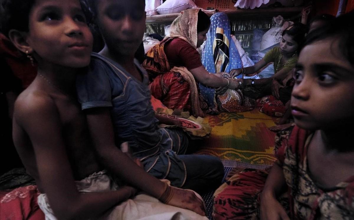 Nenes rohingyes: casades per la gana
