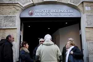 Oficina del Monte Dei Paschi en Roma.