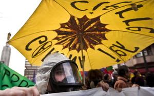 Manifestación en Bilbao por el cierre de Garoña.