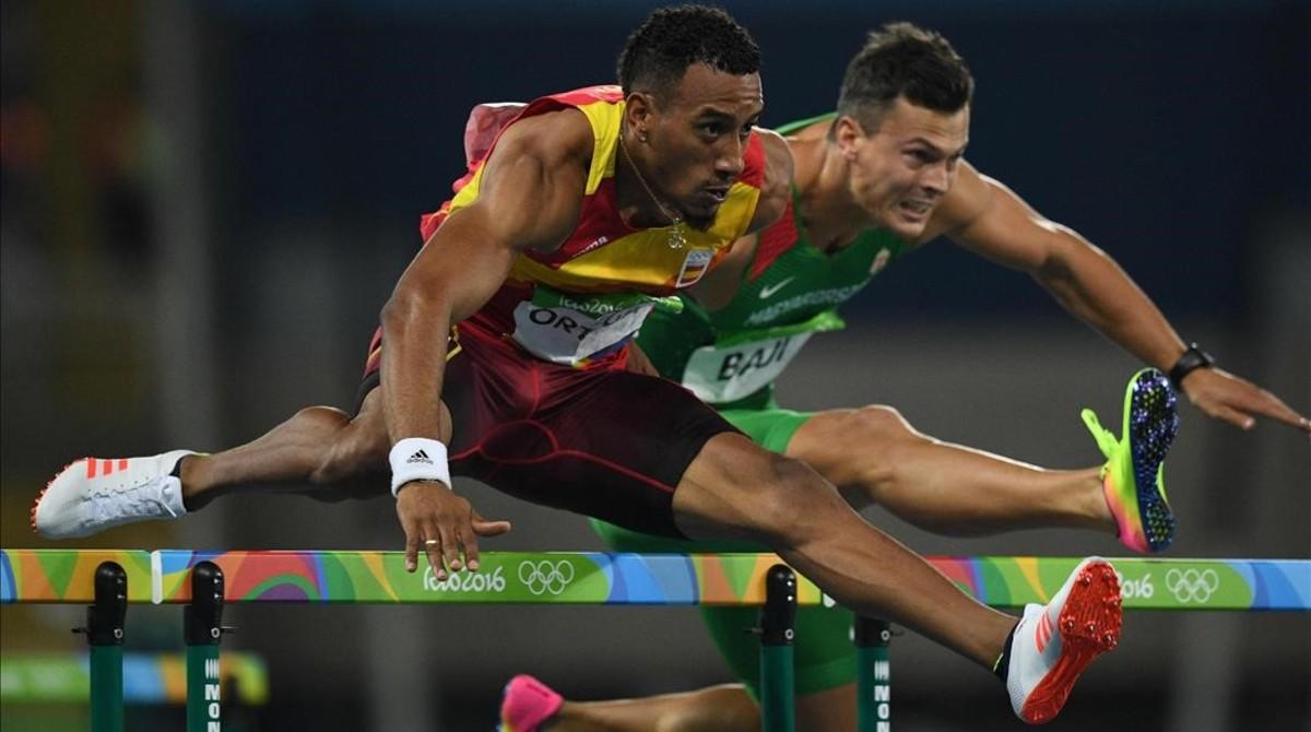 Orlando Ortega, en la final de Río.