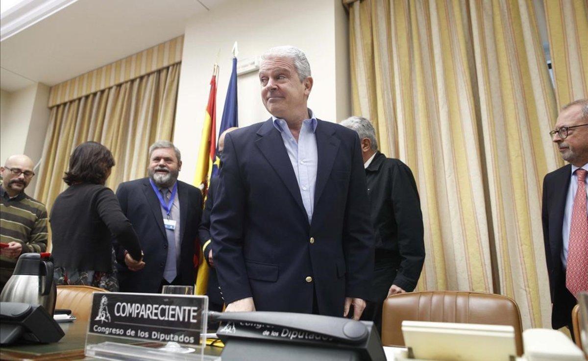 Pablo Crespo, en la comisión.