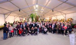 Participantes de la 66a edición de la Fira dEspàrrecs de Gavà