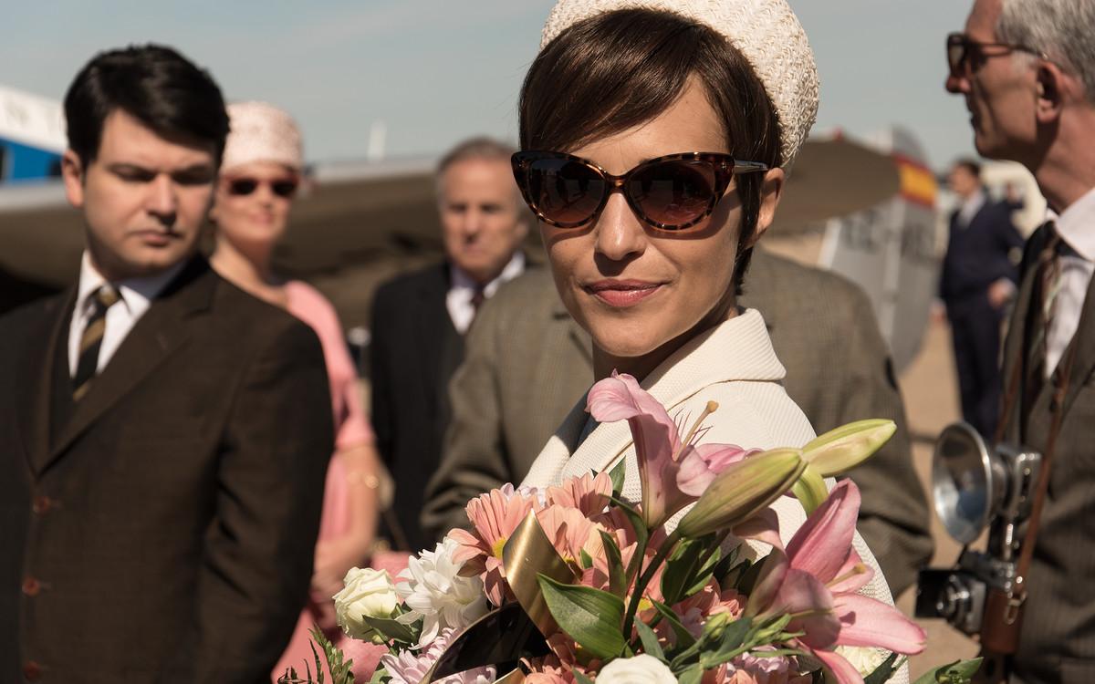Paula Echevarría, en una imagen de la cuarta temporada de 'Velvet'.