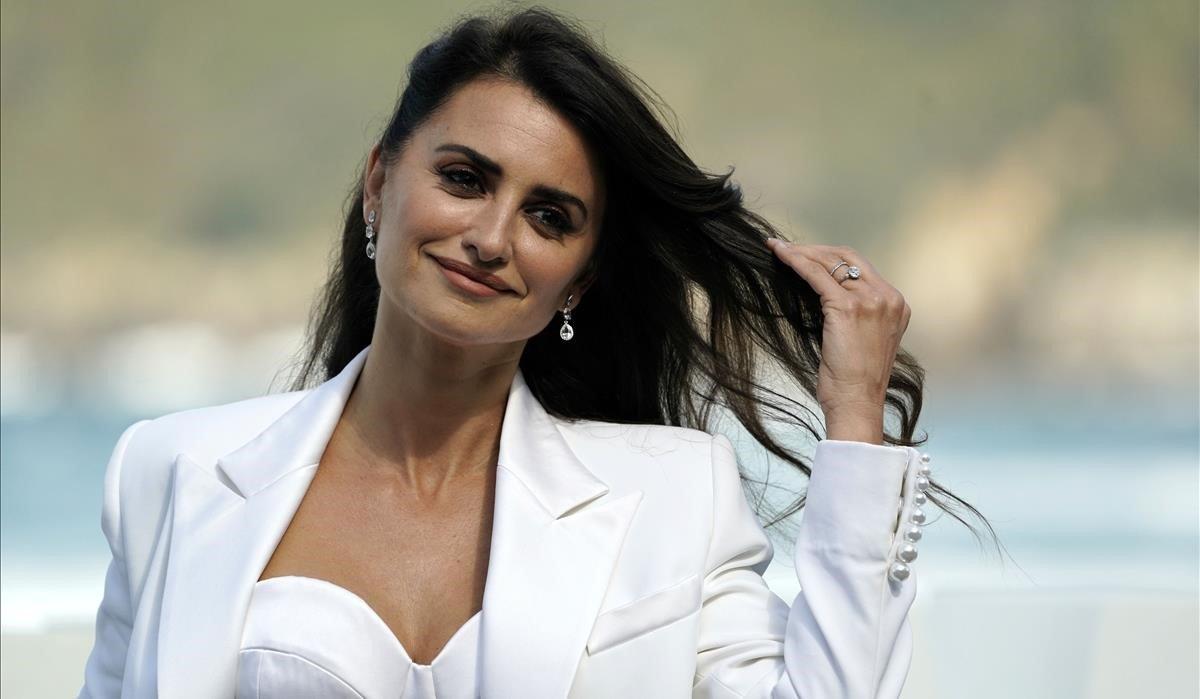 Penélope Cruz posa en el 'photocall' del Festival de Cine de San Sebastián, en septiembre del 2019.