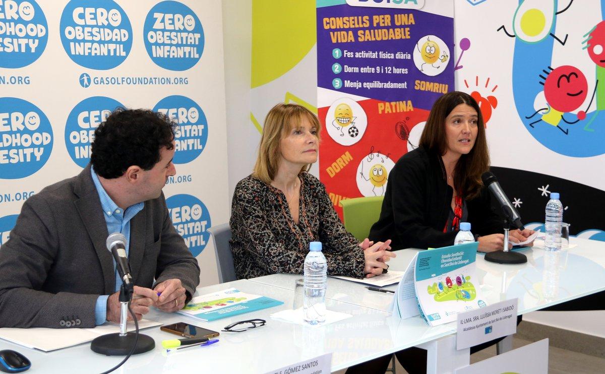 Presentación de los resultados del estudio SantBoiSà sobre obesidad infantil en Sant Boi