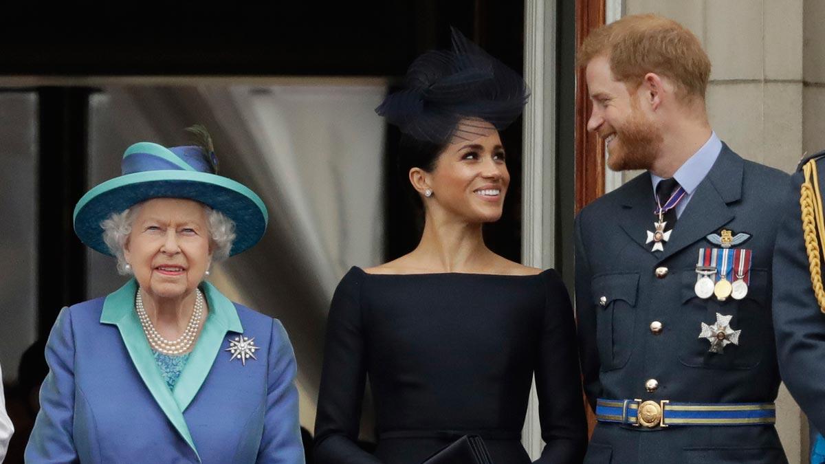 El Príncipe Henry y Meghan Markle