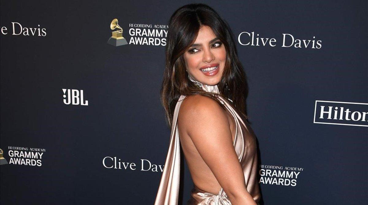Priyanka Chopra, en los Grammy 2020.