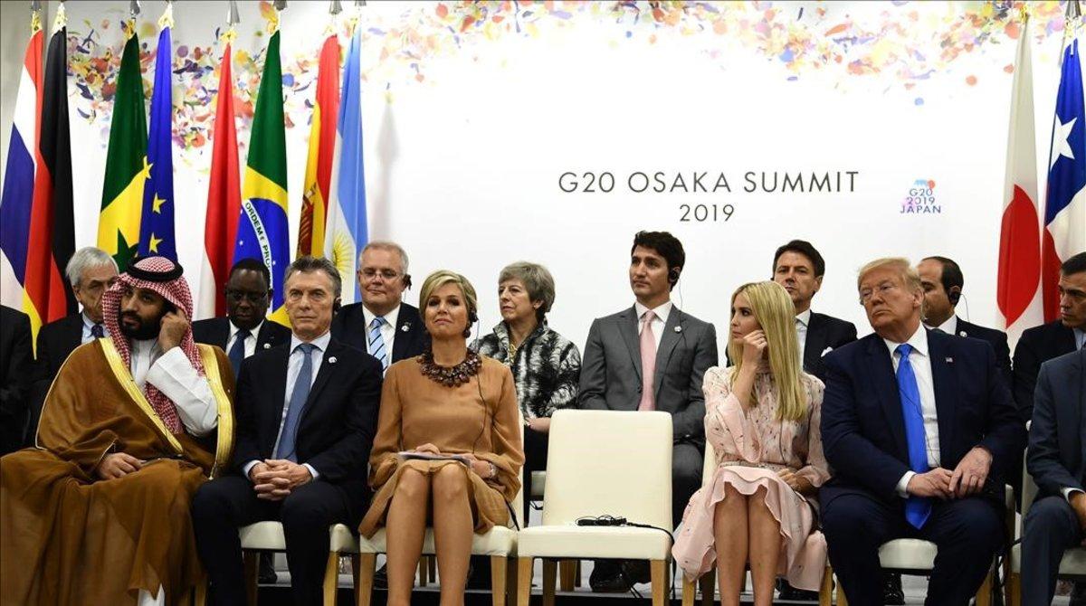 Una reina i la filla de Trump reclamen l'apoderament de la dona al G-20