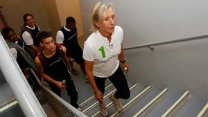 Navratilova acusa la BBC de pagar-li 10 vegades menys que a McEnroe