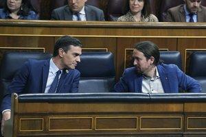 El PSOE i Unides Podem creen la taula de control al Govern de coalició