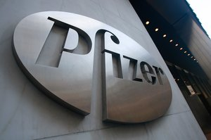 La sede central de la farmacéutica Pfizer en Nueva York.