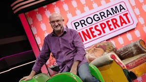 Sergi Mas, en el plató de 'Programa inesperat'.