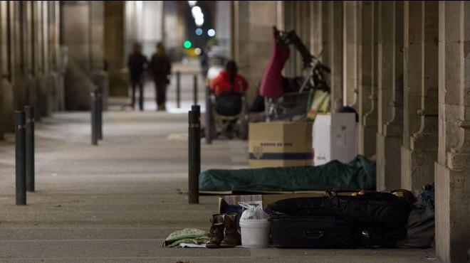 Sin hogar, sin techo, sin remedio
