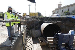 Les obres de la carretera BV-2002 a Sant Boi s'allargaran durant els pròxims sis mesos