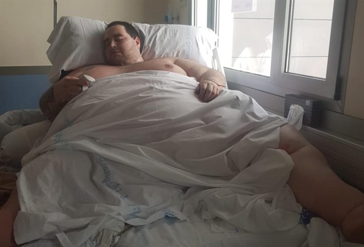 Teo Rodríguez, el joven valenciano hospitalizado.