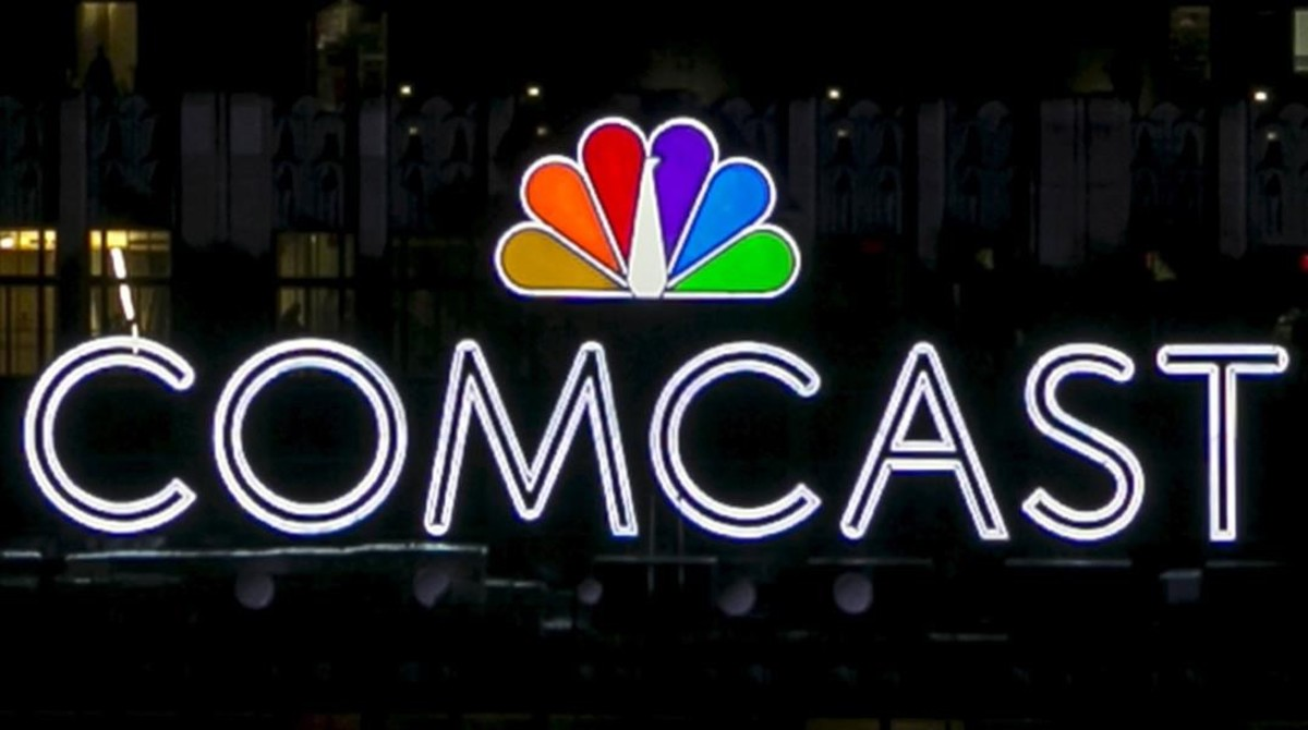 Logotipo de Comcast.