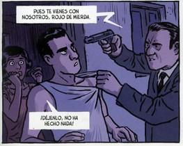 Viñeta de Jamás tendré 20 años, nuevo cómic de Jaime Martín, sobre la guerra y posguerra de sus abuelos.