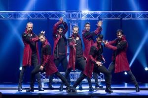 La formación original de Los Vivancos, en una imagen de su nuevo espectáculo.