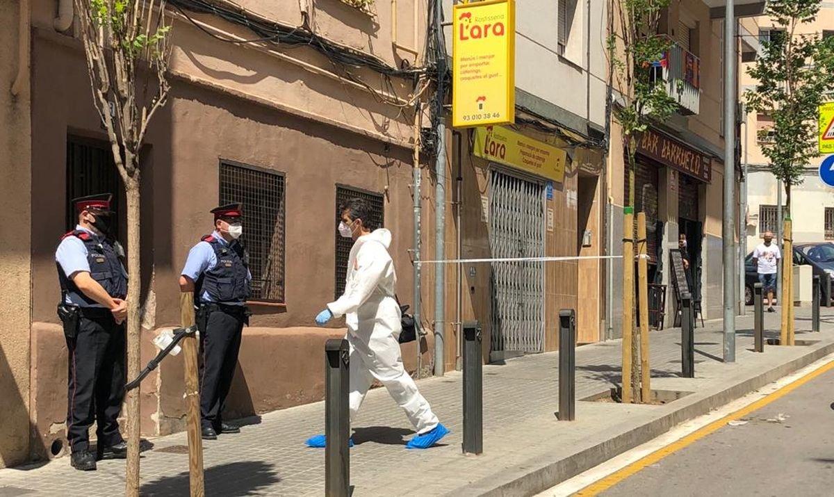 Detingut per matar la seva parella a Esplugues i fugir
