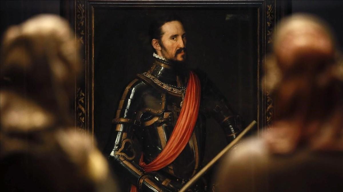 Fernando Álvarez de Toledo, tercer duque de Alba (1549), óleo de Antonio Moro.