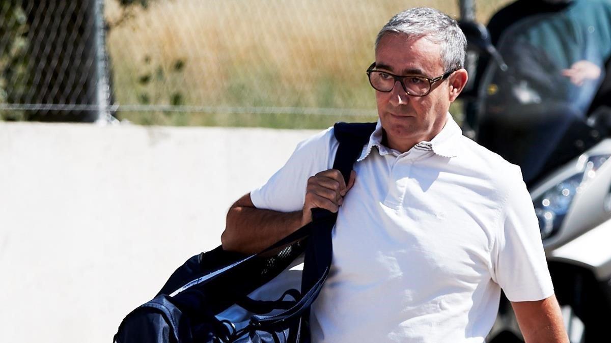 Diego Torres, en junio del 2018, cuando ingresó voluntariamente en la cárcel de Brians 2.