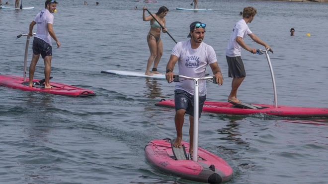 'Paddle surf' a pedales