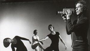 Compañía de danza de Merce Cunningham en 1972.