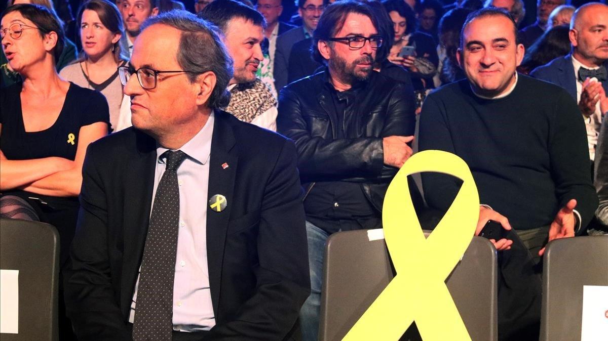 Torra: «Catalunya no té un problema de convivència, sí de democràcia i de justícia»