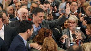 El PSOE fuig de la polarització que PP i Cs busquen amb Torra