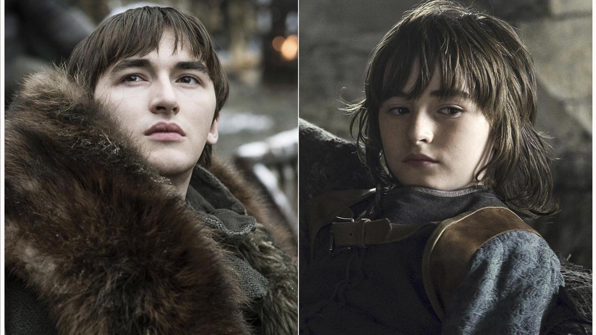 Isaac Hempstead Wright como Bran Stark.