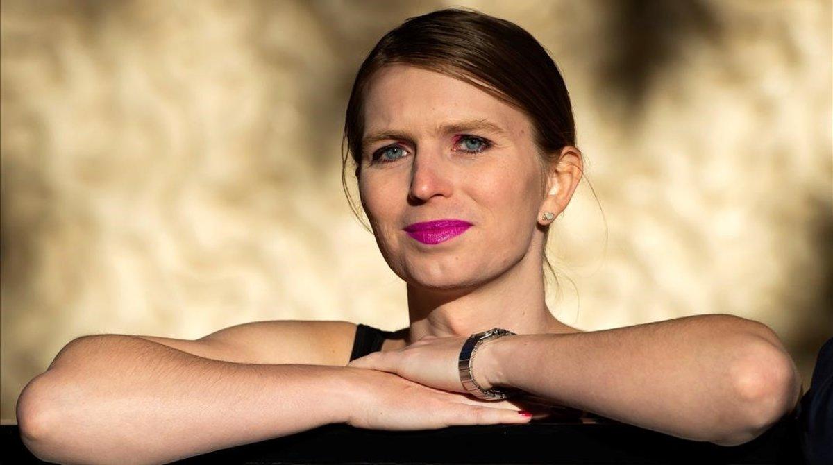 Chelsea Manning, en su primera aparición pública en el Reino Unido, en octubre del 2018.