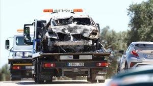 Reyes anava a més de 220 km/h quan es va estavellar amb el seu cotxe