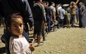 L'Unicef denuncia les males condicions de vida dels nens de Síria
