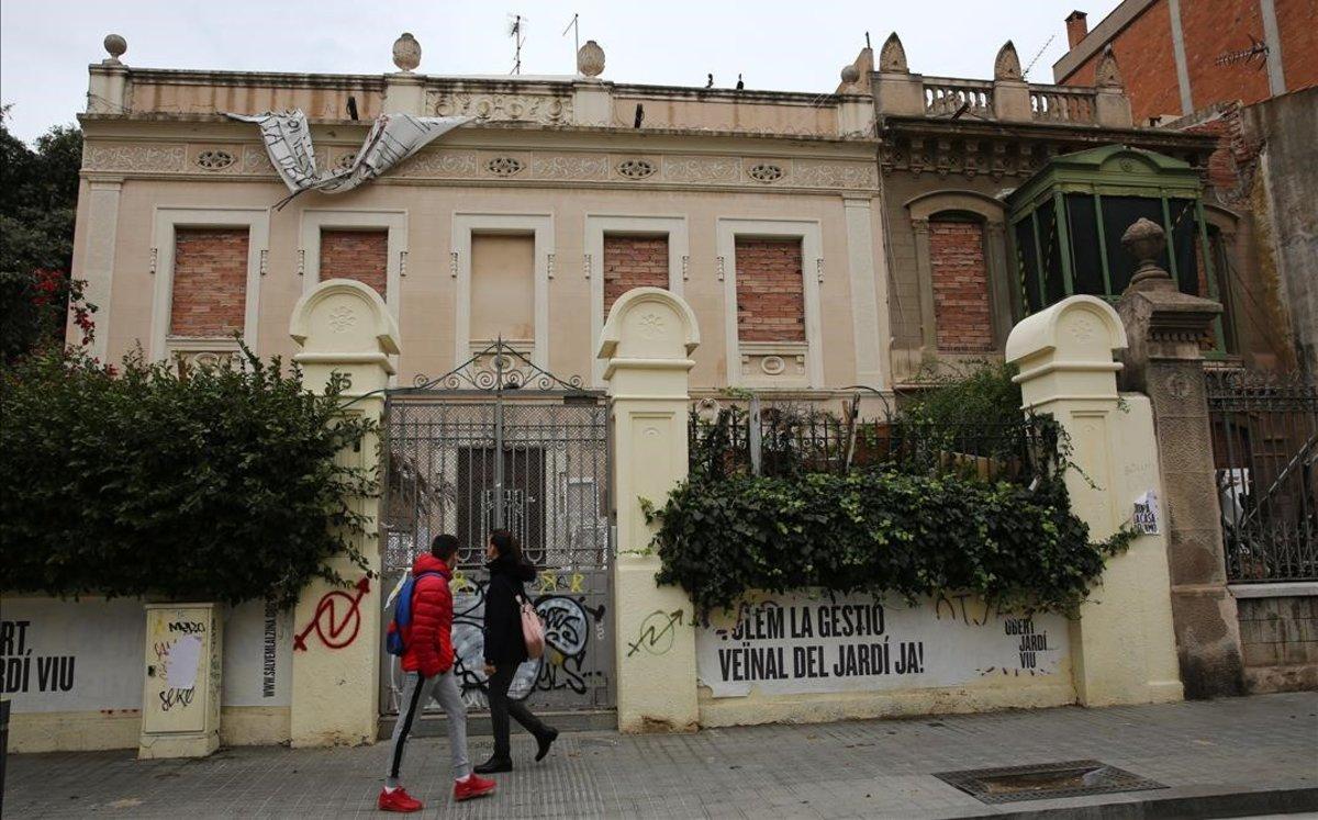 Barcelona compra les casetes d'Encarnació, a Gràcia