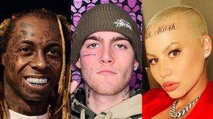 Tatuajes en la cara: los famosos se apuntan a la moda