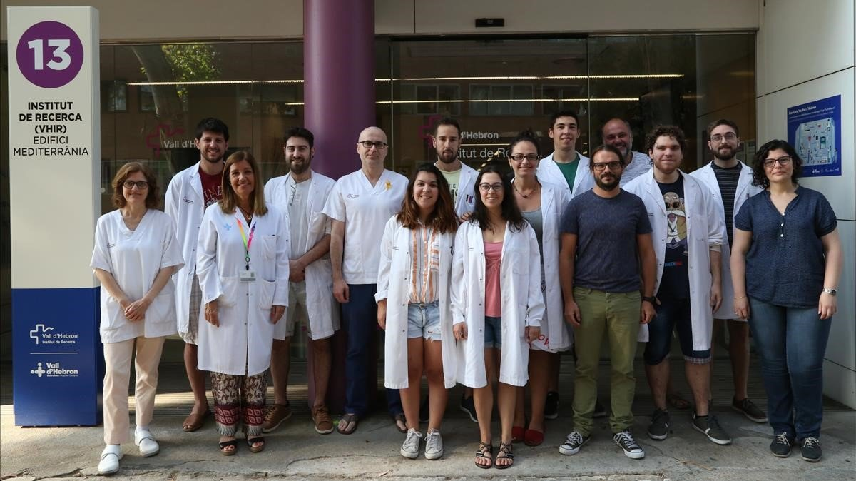 Equipo de investigación del doctor Ramon Martí, del Vall d'Hebron Instituto de Investigación (VHIR).