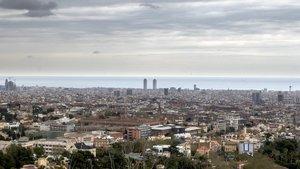 Barcelona encadena una semana con el aire más puro del último siglo