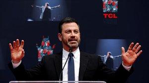 El cómico y presentador televisivo Jimmy Kimmel.