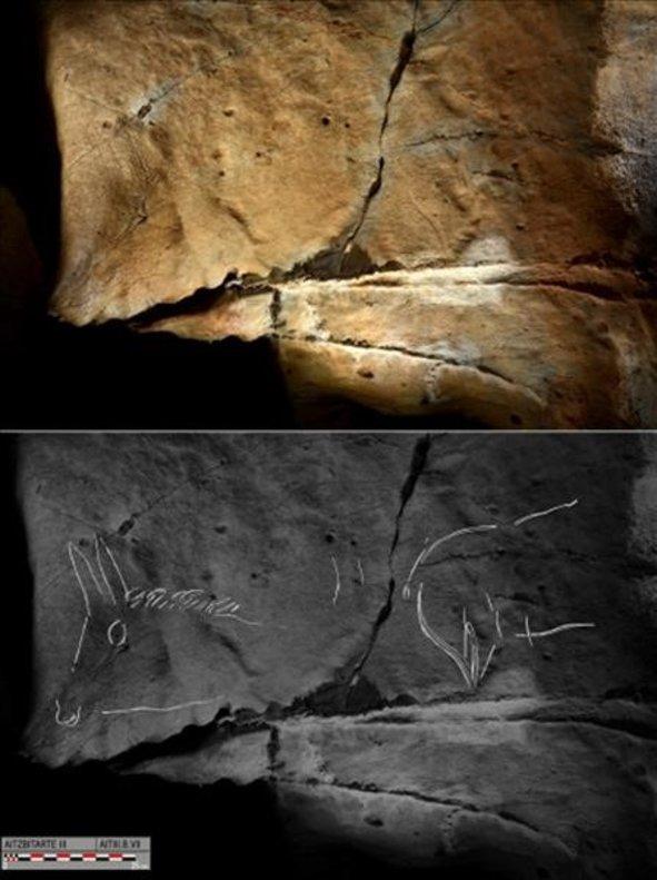 Los grabados muestran un estilo característico, en el que destacan las siluetas y la falta de perspectiva.