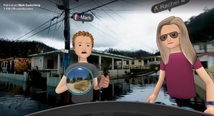 Zuckerberg demana perdó al fer un 'tour' virtual per Puerto Rico