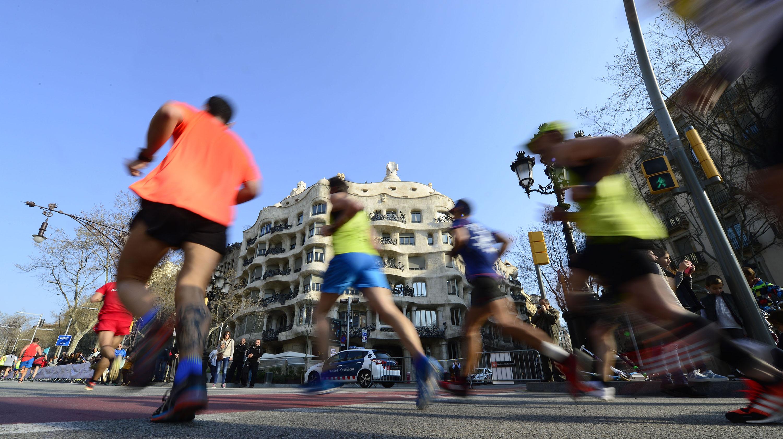 La Maratón de Barcelona reune a 20.000 runners