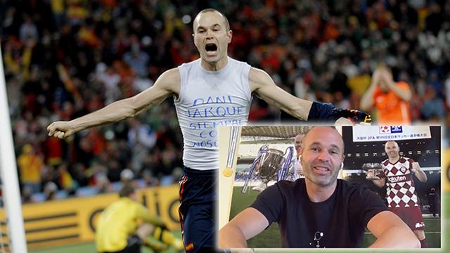 Entrevista amb Iniesta en el desè aniversari del Mundial: «Hi ha coses que no es poden somiar»