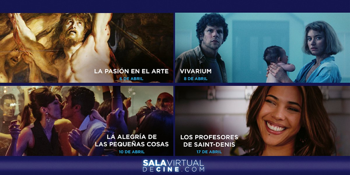 Presentación de Sala Virtual de Cine.