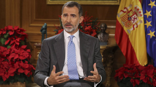 Felip VI sobre Catalunya: El camí no pot portar de nou a lenfrontament i lexclusió.