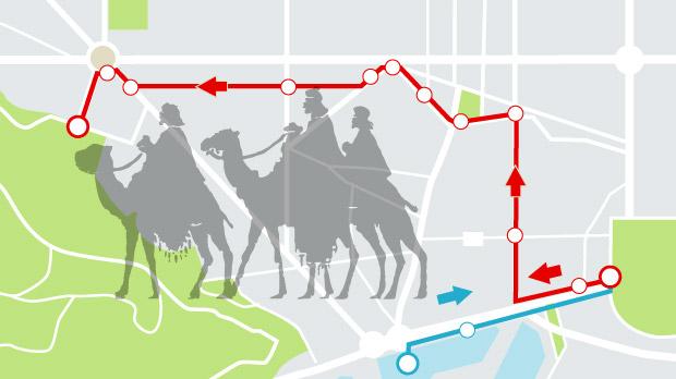 Cavalcades dels Reis d'Orient als barris de Barcelona 2020 (recorregut i horaris)