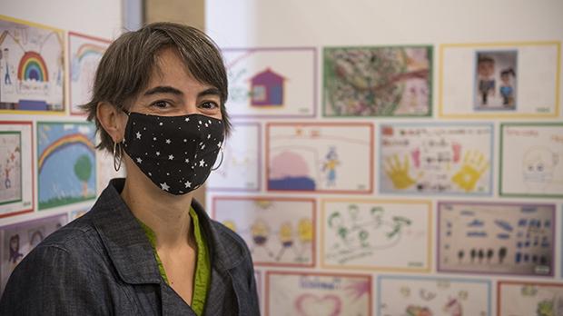 Exposición de dibujos sobre la pandemia
