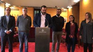 Mataró presenta un manifest conjunt de tots els grups municipals per a la millora de la seguretat