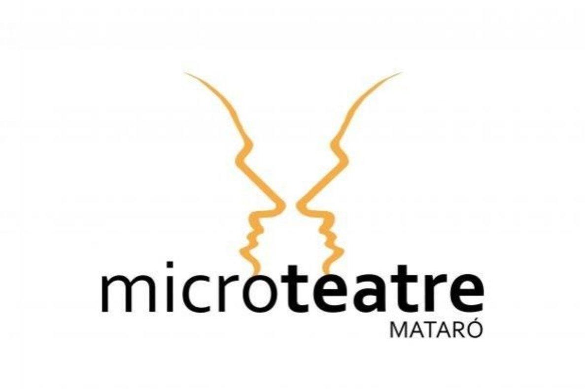 Cartel del concurso de Microteatre de Mataró.