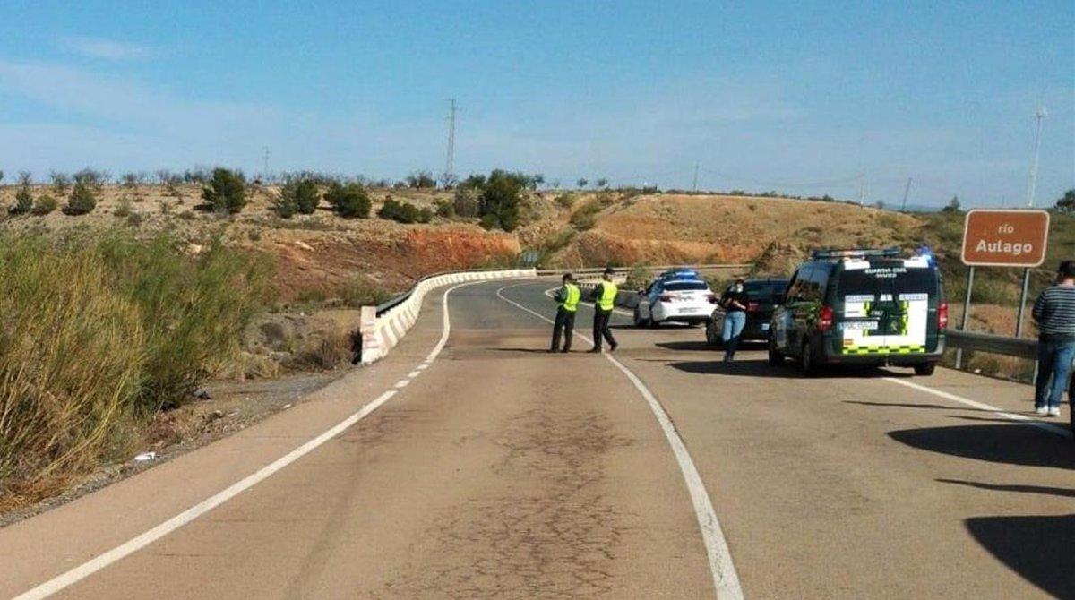 Accidente en Almería, el pasado 8 de abril.