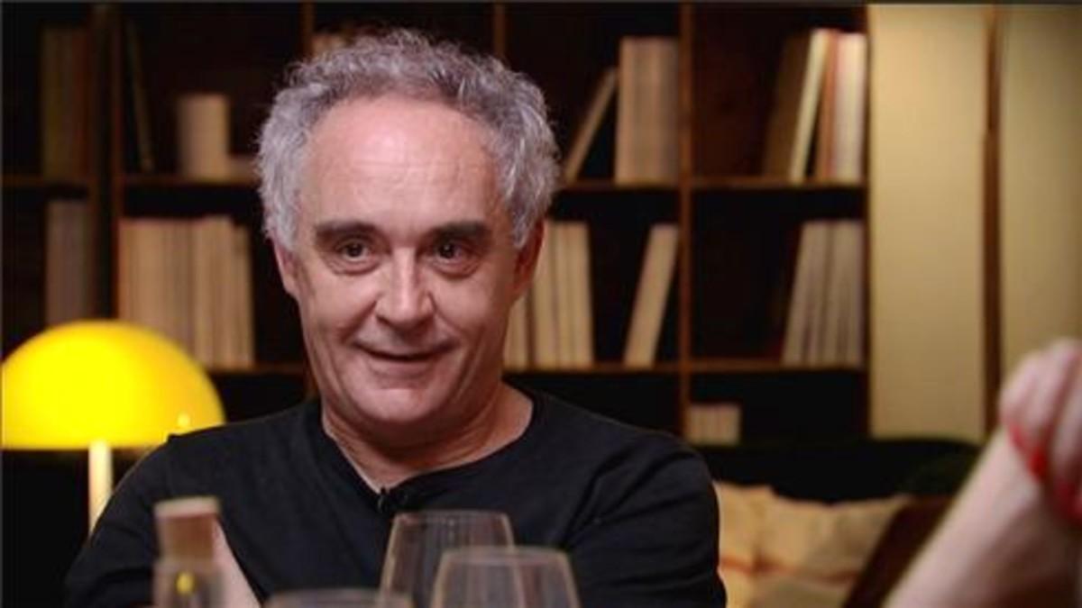 Ferran Adrià conversa con Roger de Gràcia sobre el éxito, en 'El sopar'